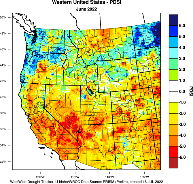 a discussion on the threatening drought in the western states of the united states Pacific storms have brought much-needed rain and snow to parched western states.